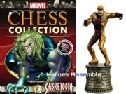 Marvel Chess Collection #49 Sabretooth Eaglemoss Publications